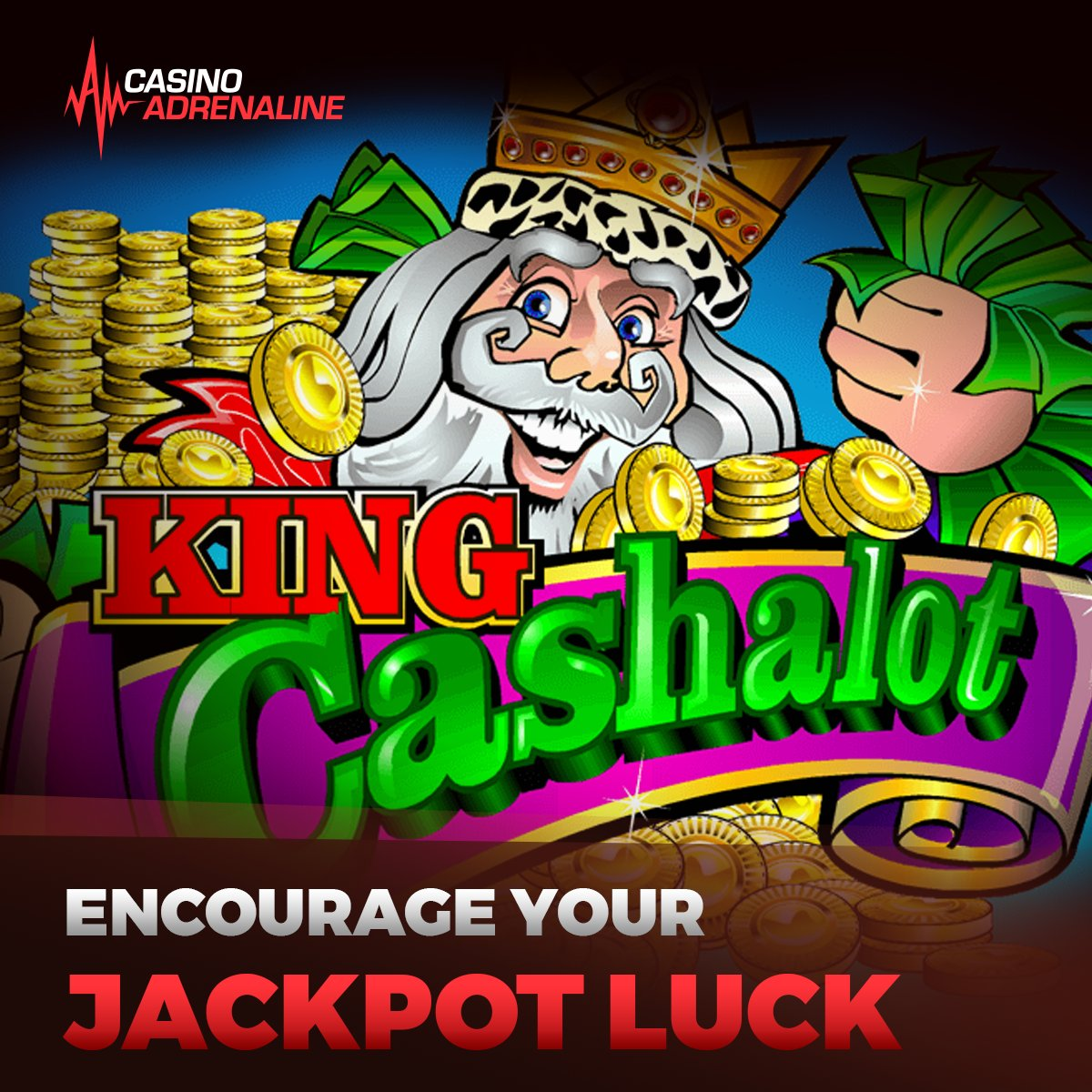 test Twitter Media - Encourage your Jackpot luck by playing King Cashalot! 😁😎 #CasinoAdrenaline #enjoythegame #jackpotluck Play now: https://t.co/I9uyawMrUo https://t.co/ho34N1wRxD
