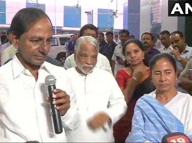 'One party shouldn't rule the nation': KCR, Mamata bat for non-BJP, non-Congress 'federal front' https://t.co/tfWmCGQTC5
