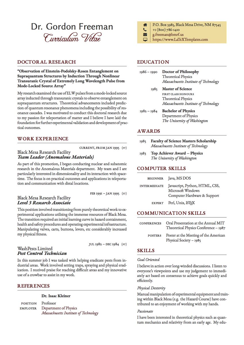 Latex Academic Cv from pbs.twimg.com