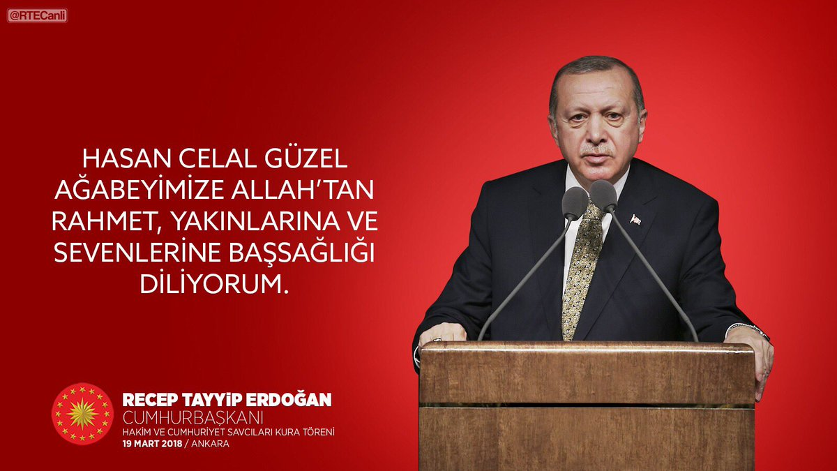 CB: Hasan Celal Güzel ağabeyimize Allah'...
