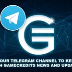 Image for the Tweet beginning: Join GameCredits Telegram to stay