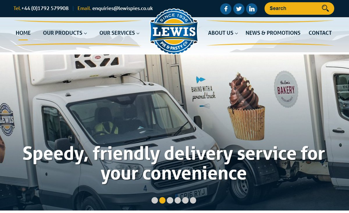 test Twitter Media - Don't forget that you can get most information from our website https://t.co/LD8UHgOLZ3 but our friendly sales team are also available to take any enquiries on 01792 579908 😀😀 #website #lewispies #swansea #info #helpful #sales #wholesale https://t.co/RQhIv65nzV