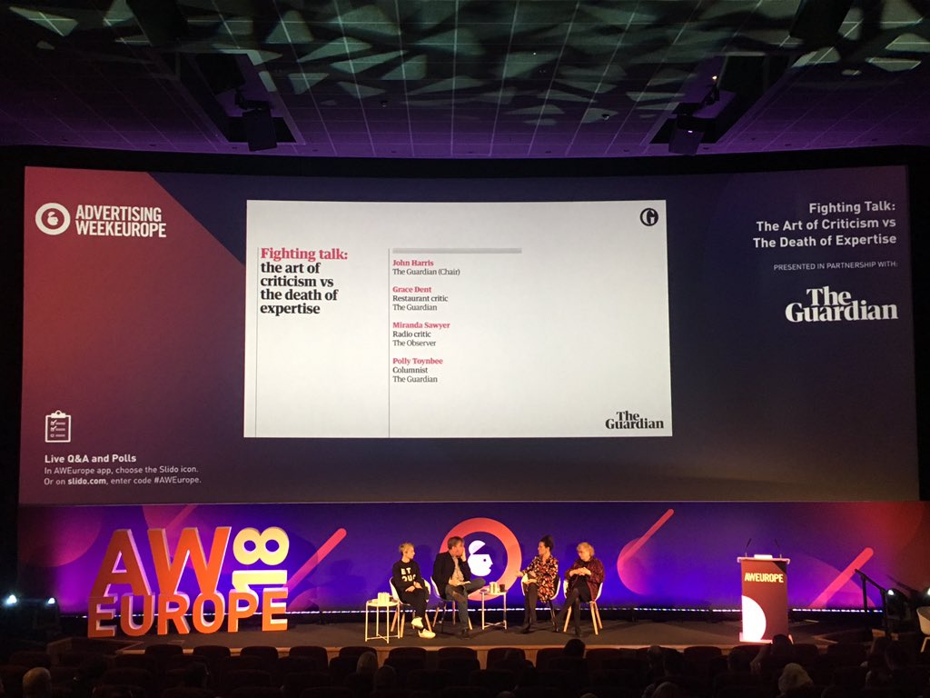 We are here at #AWEurope collecting care...