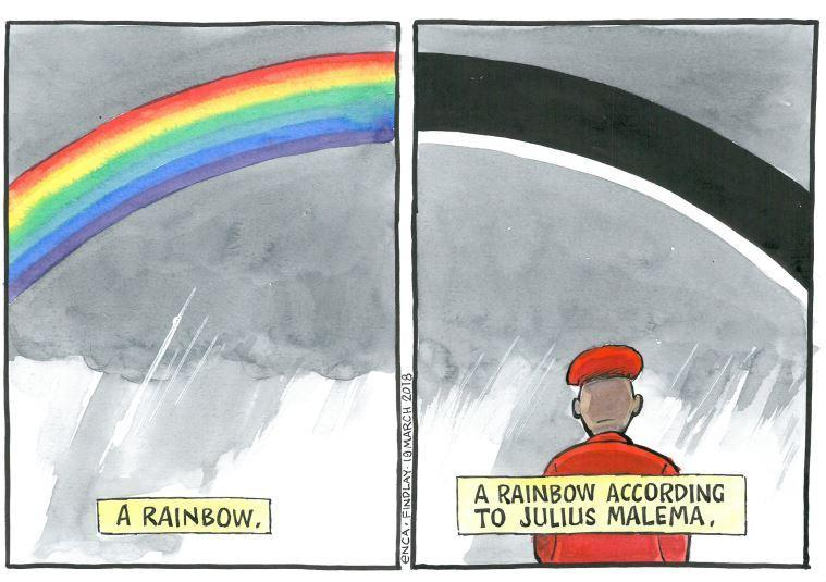 #eNCAcartoon: Findlay: Rainbow A La #Mal...