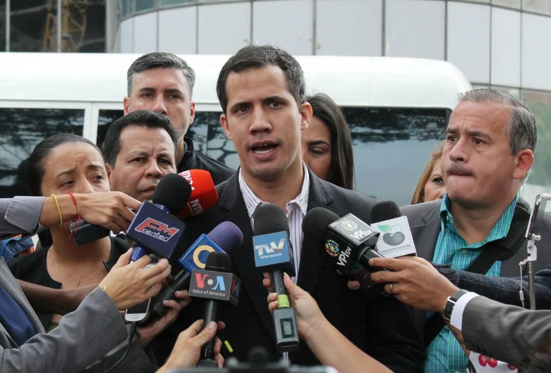 #19Mar Juan Guaidó invitó a María Corina...