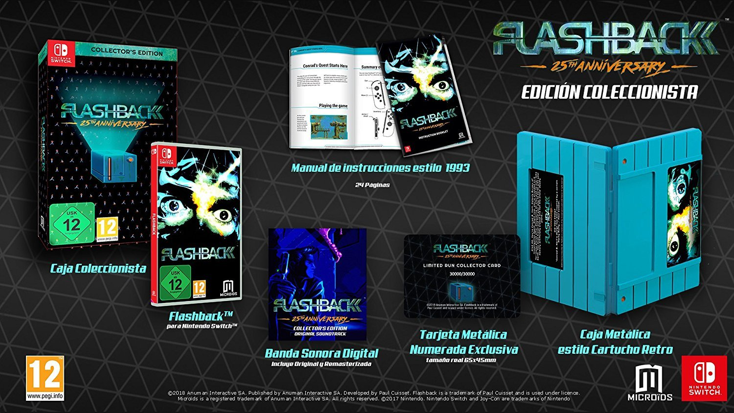 FLASHBACK - Édition Collector sur Nintendo Switch