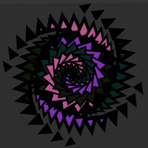 rosee ➤ Edit and animate it on Iterograph https://t.co/8egI2OXUjX #abstract #geometry #art #proceduralart #iterograph