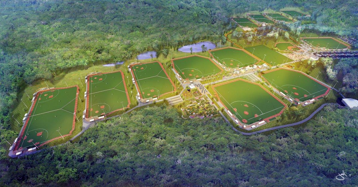 😎 More Baseball/Softball fields coming in 2019:  Panama City Beach (Florida🇺🇸) Sports Park & Stadium Complex 🏟️  📷: @Visit_PCB