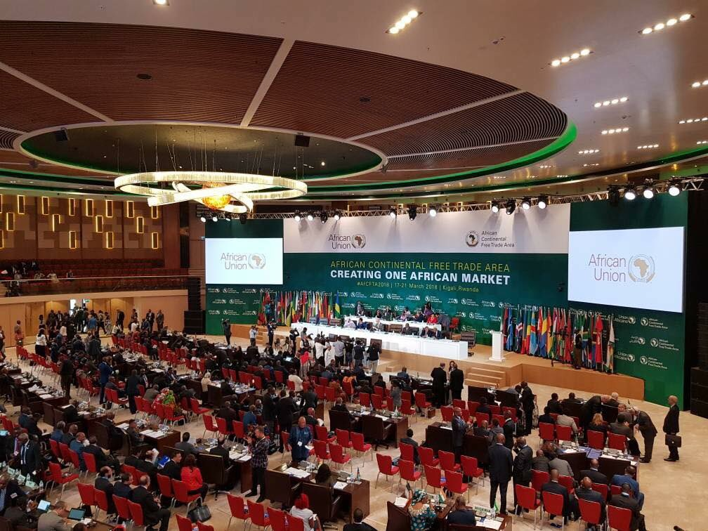Image result for AFRICAN CONTINENTAL FREE TRADE AREA (AfCFTA2018).