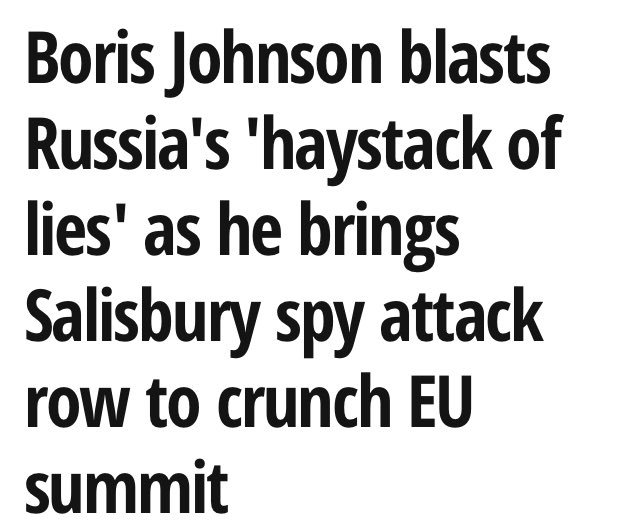 """""""Haystack of lies"""" is literally the best..."""