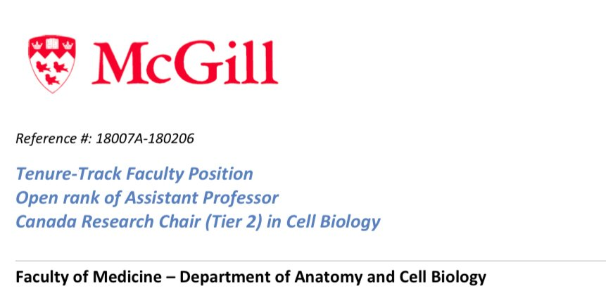 Anatomy&CellBiology (@McGill_ACB) | Twitter