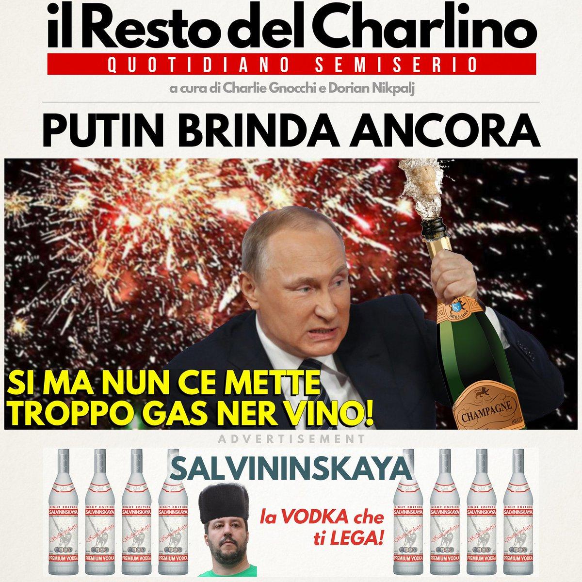 #Putin festeggia ancora! #primapagina di #lunedi #19marzo ! #FakeNews #FakeNewsMedia #satira #ElezioniRussia #elezioni2018 #Politica #Russia #mosca #festadelpapa  - Ukustom