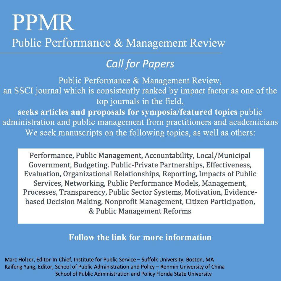 PPMRJournal on Twitter: