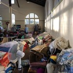 Image for the Tweet beginning: Bega Showgrounds evacuation centre. The