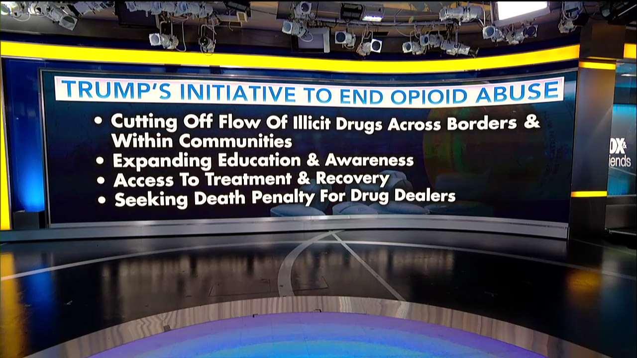 .@POTUS initiative to end opioid abuse @foxandfriends https://t.co/4yuGmZLxcq https://t.co/nIYZFRgfiI