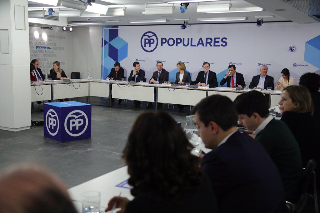Comité Ejecutivo Nacional. El @PPopular reforzará su oferta programática en la Convención Nacional que a primeros de abril celebraremos en Sevilla.