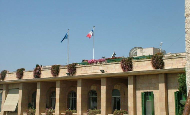 Empleado de consulado francés en #Israel...