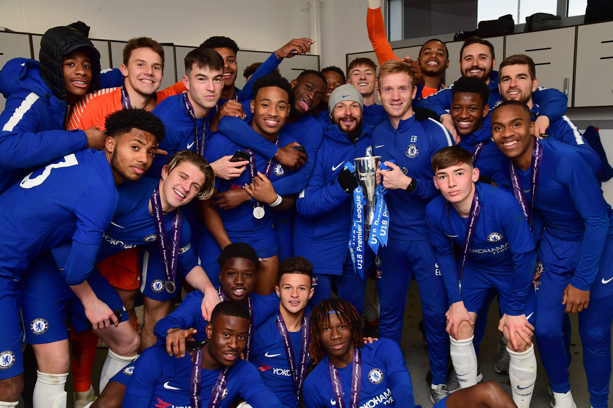 ICYMI: Our under-18s won the inaugural Premier League Cup following a 2-0 win v Spurs yesterday! ���� https://t.co/6td7I8dE1N