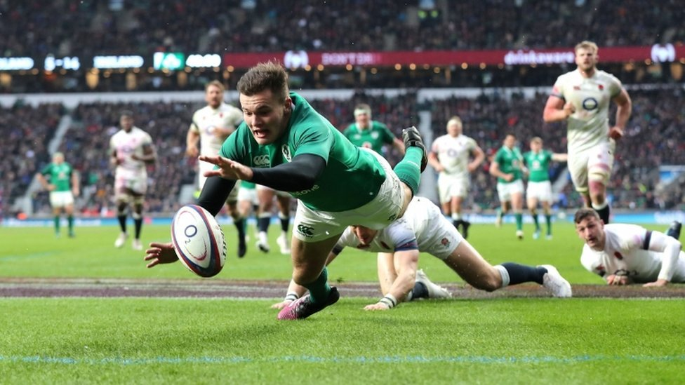 Jacob Stockdale From School Fringe Player To Rugby Record Breaker Https