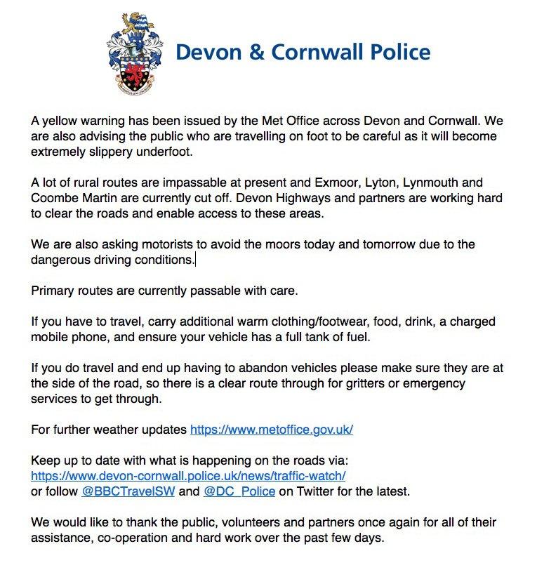 DevonCornwall Police on Twitter:
