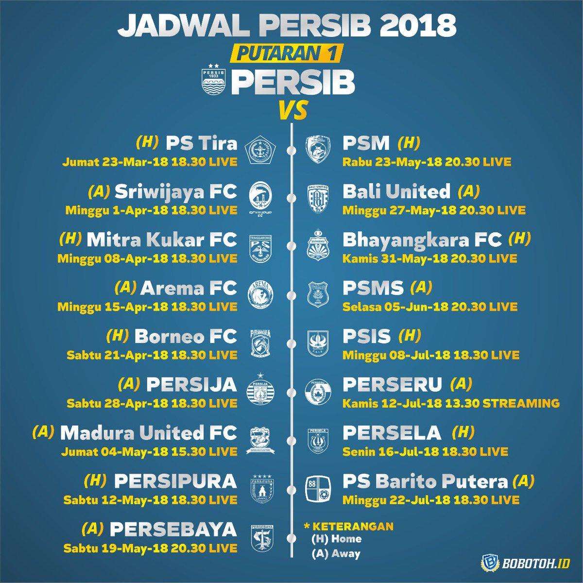 Persib Bandung Jadwal