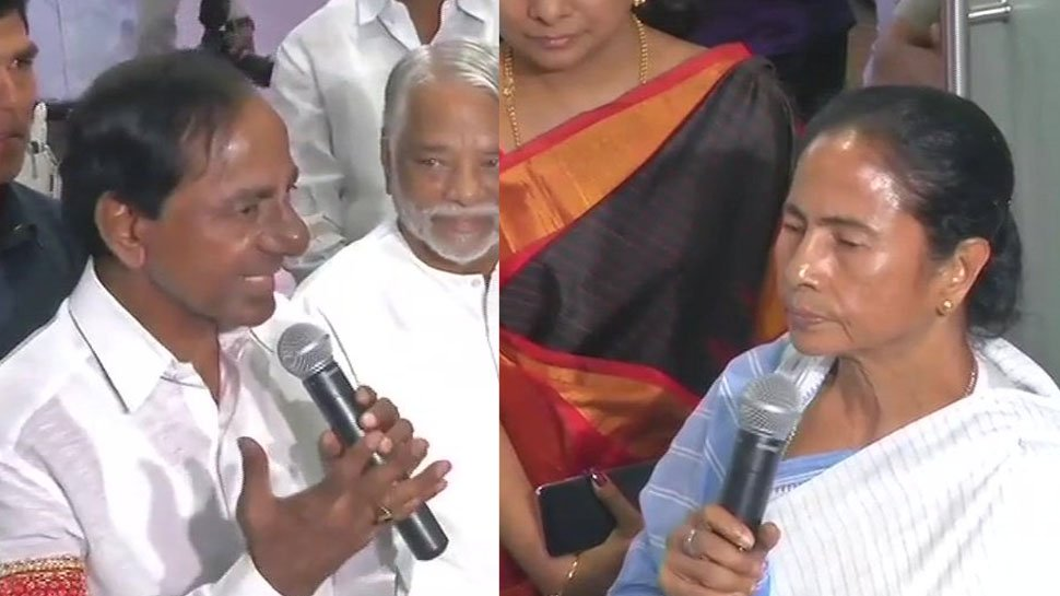 With third front on mind, Telangana's KCR meets Trinamool's Mamata Banerjee https://t.co/skPFs3e8f8