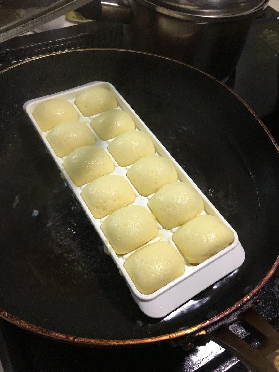 パン フライパン 蒸し