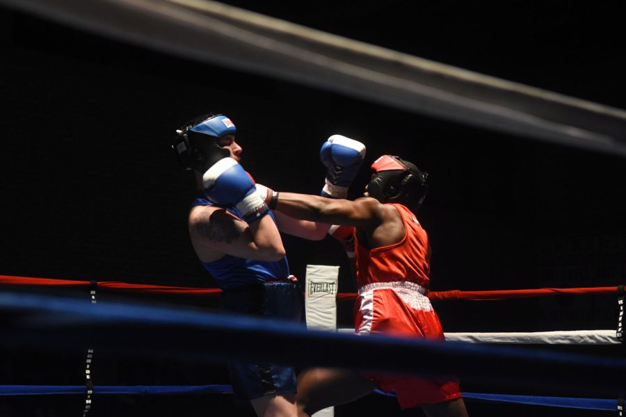 Officials initially made a miscalculation of points in the @USAGBavaria St. Patrick's Day Boxing Invitational. Stuttgart came out on top, contrary to the announcement of Vilseck as the winner at the event.  https://t.co/KH4WwP5XRR Photo by Martin Egnash/Stars and Stripes