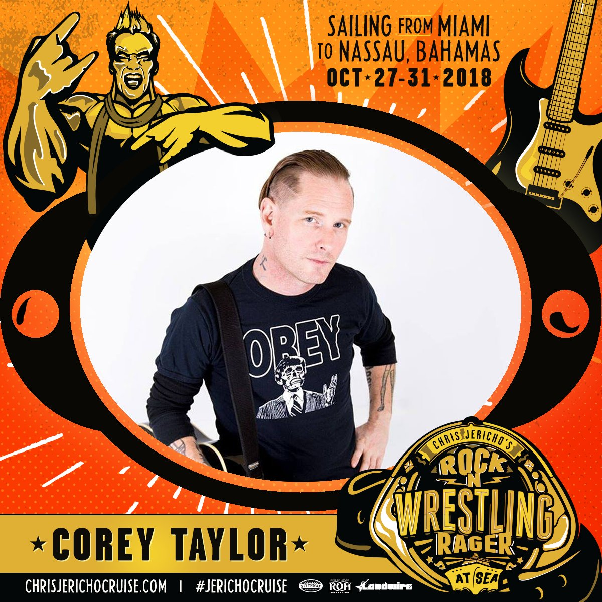 I'll be performing a solo acoustic set on the inaugural #JerichoCruise, sailing from Miami to Nassau, Bahamas October 27-31. Book your cabin + get full details here: https://t.co/KodIsh1N2c