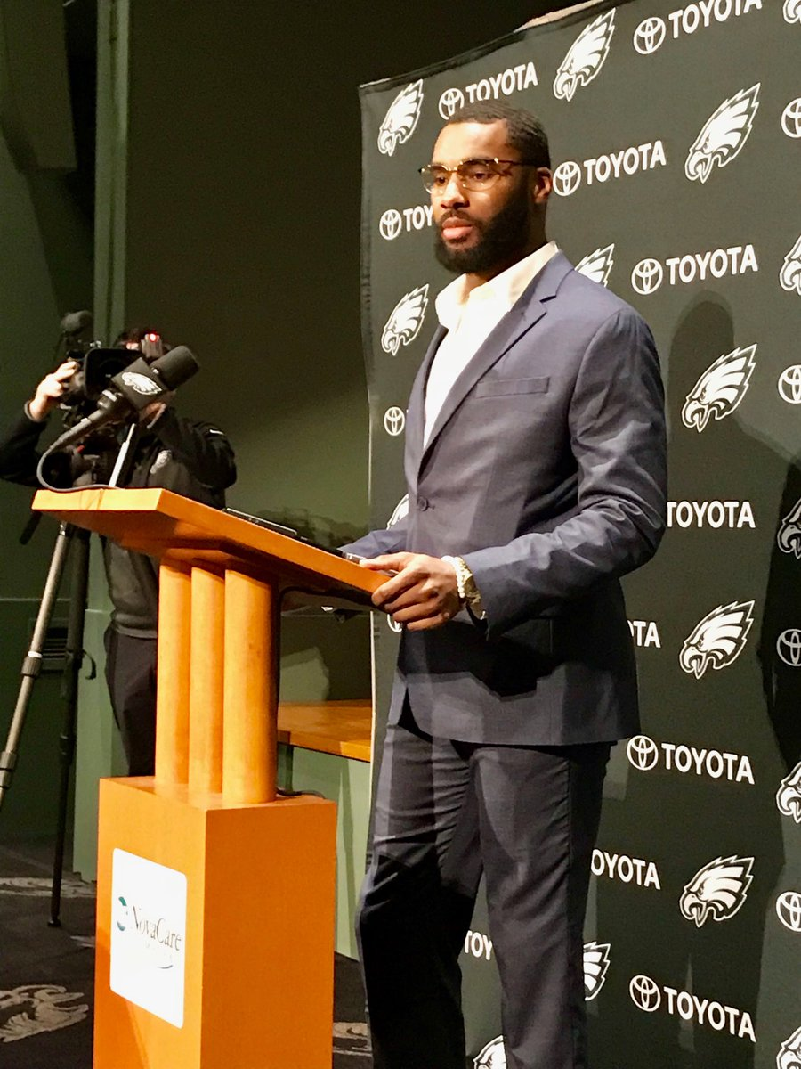Daryl Worley says he doesn't care if he plays inside or outside, has played more outside. Glad to be home in Philly. Was out of touch on a boat in Bahamas, got back to shore and had a bunch of texts and tweets welcoming him to Eagles.