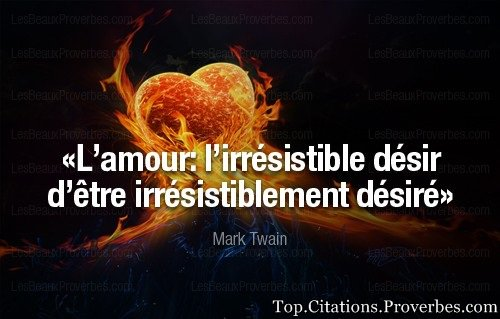 Daniel Confland On Twitter Citation De Marktwain L Amour