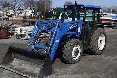 New holland Tn75da Tractor manual