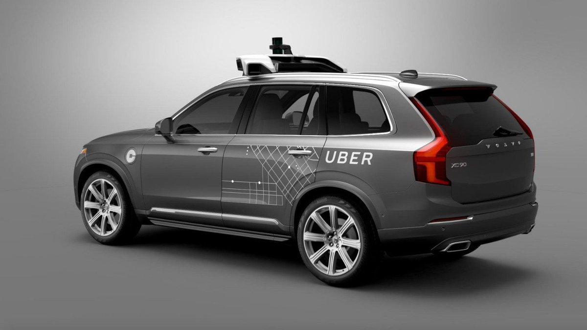 Самоуправляемый автомобиль Uber насмерть сбил пешехода https://t.co/6OGiA8AAQ5