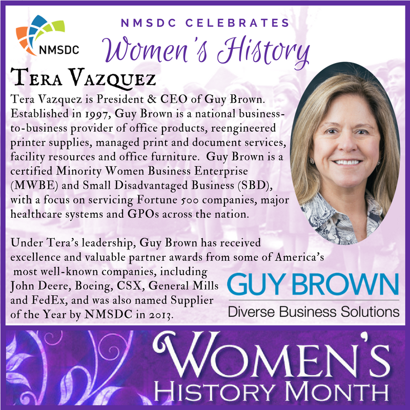 Nmsdc Would Like To Take Some Time Celebrate Women S History Being Made Every Day In Our Network Womenin Womanowned Minoritybusiness