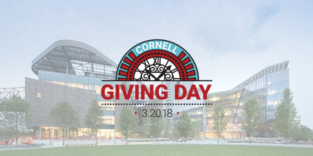 Tomorrow's the day! Between 12am–11:59pm help support Cornell Tech any way you can. #CornellGivingDay givingday.cornell.edu/organizations/…