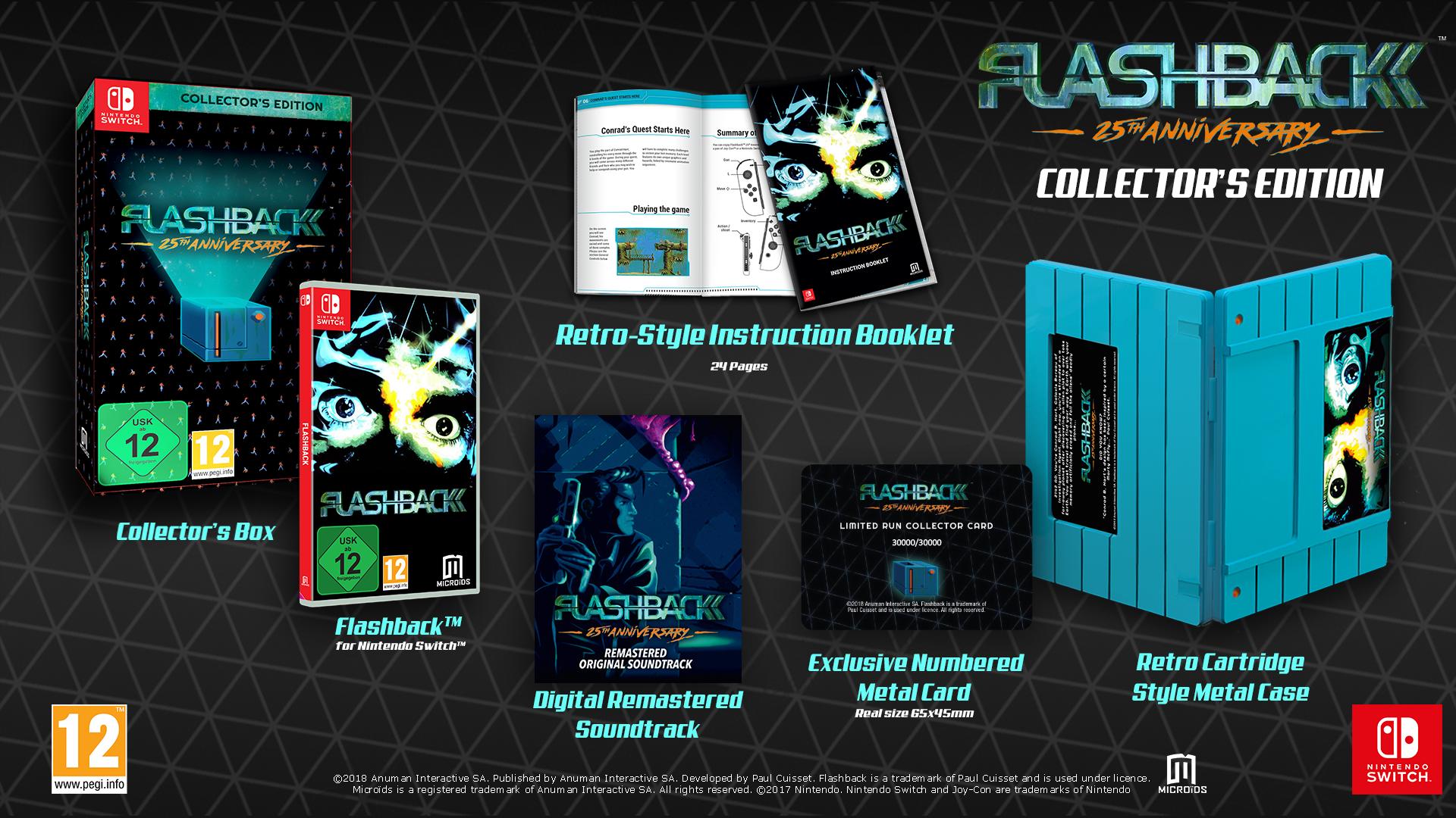 Flashback 25th Anniversary - edycja kolekcjonerska