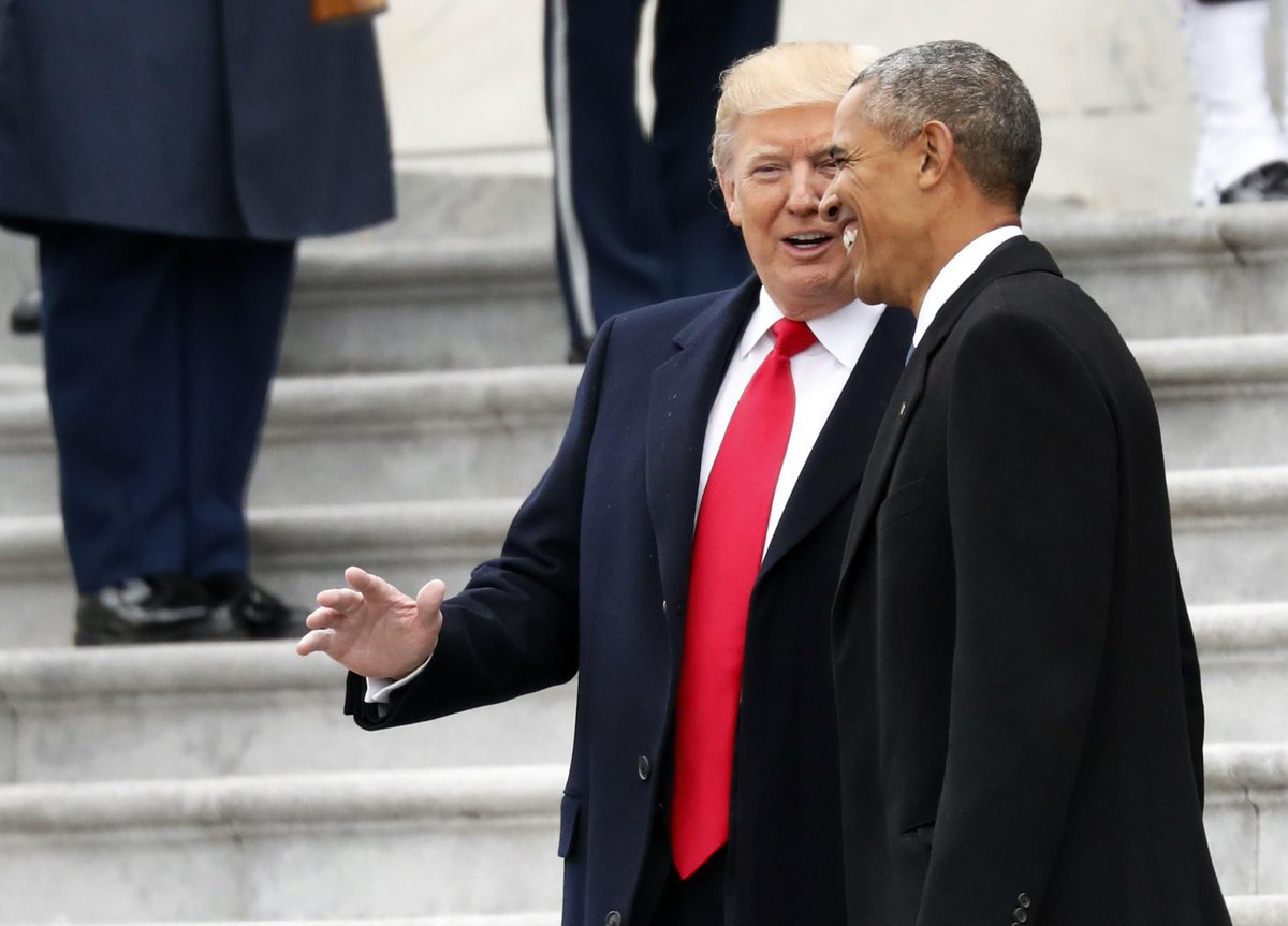 Due to the similar political dynamics that drove their presidencies, President Obama's time in office offers a very instructive parallel for the future politics of the Trump presidency, writes @HotlineJosh   https://t.co/PItBcNZ5dn