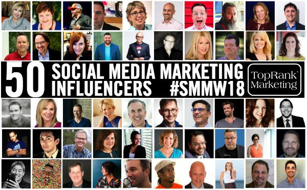50 social media marketing influencers to learn from in 2018: ow.ly/wwQm30iZOj7 via @toprankblog #ChoiceContent