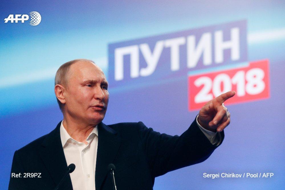 Los cinco desafíos económicos del nuevo mandato de Vladimir Putin #AFP https://t.co/U6kJUrBJ2n
