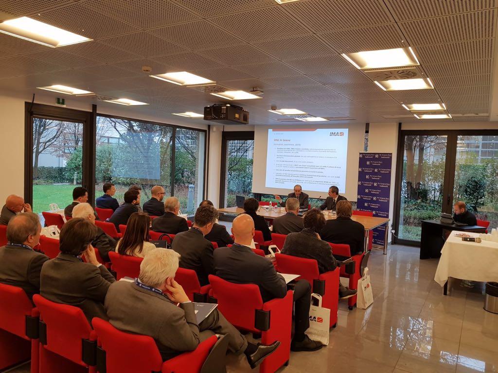 'Lo sviluppo della cultura tecnica è fondamentale per lo sviluppo del nostro Paese'. Alberto Vacchi, Presidente e AD di IMA, durante una riunione del CEO #Club #TEHA