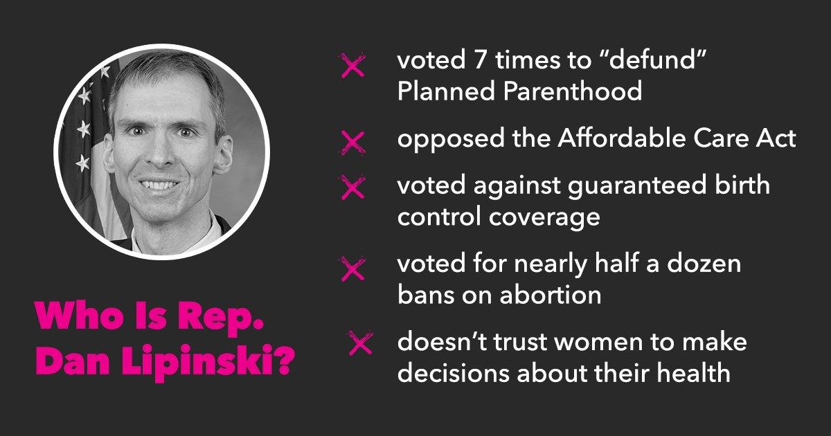 See Dan Lipinski's anti-women's health agenda for yourself. Illinoians deserve better #IL03 ⬇️