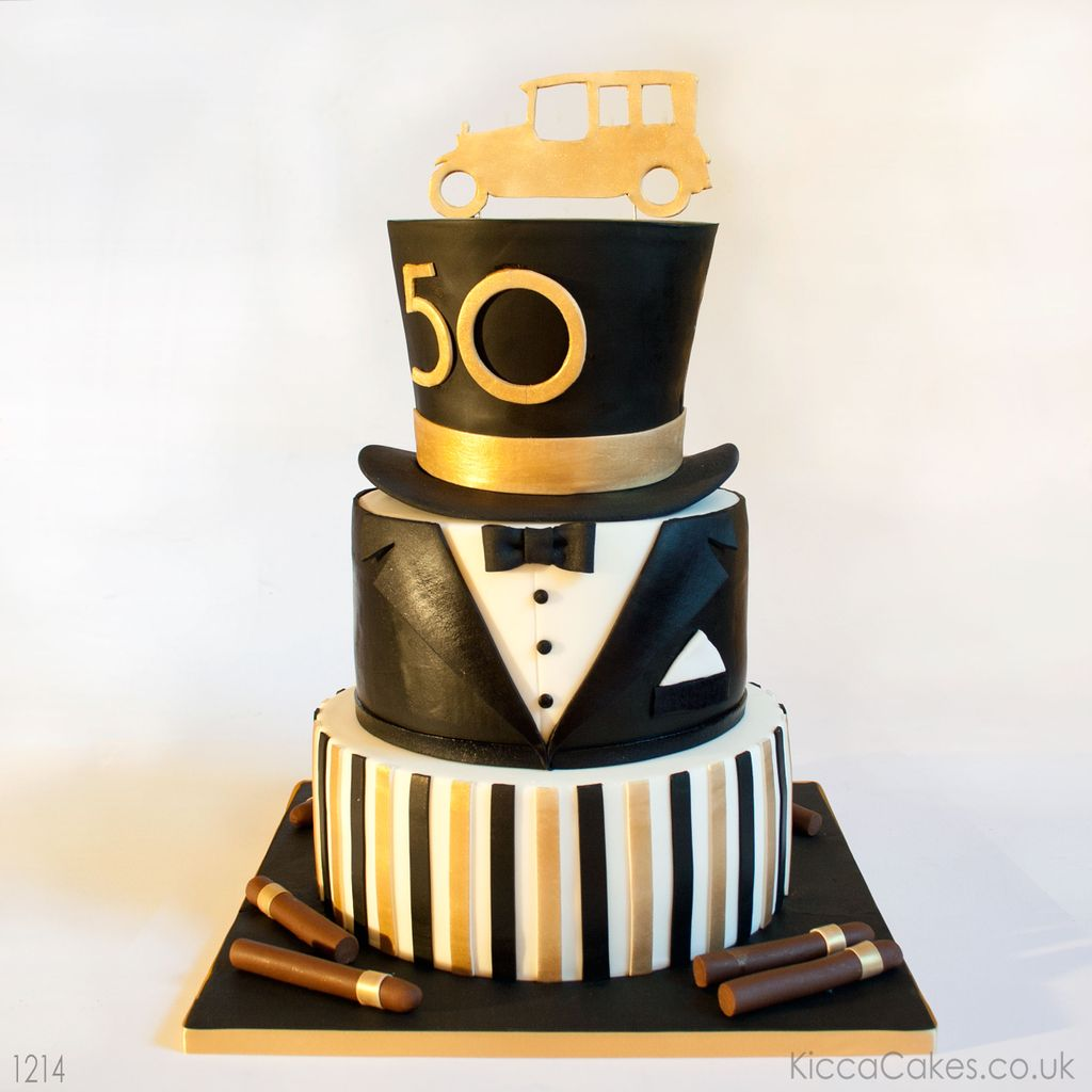 Kicca Cakes On Twitter The Great Gatsby Art Deco Birthday Cake
