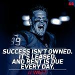 RT @NFLUK: #MondayMotivation with @JJWatt 💪 https:...