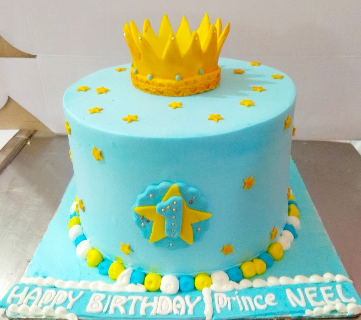 Cake Carnival On Twitter Little Prince Theme Royal Blue And Gold