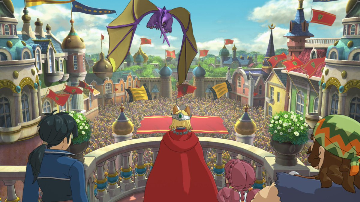 Ni no Kuni 2: Revenant Kingdom is totally unlike its predecessor, mixing in real-time combat with kingdom management. Our review: https://t.co/E0ZoDvCUFB