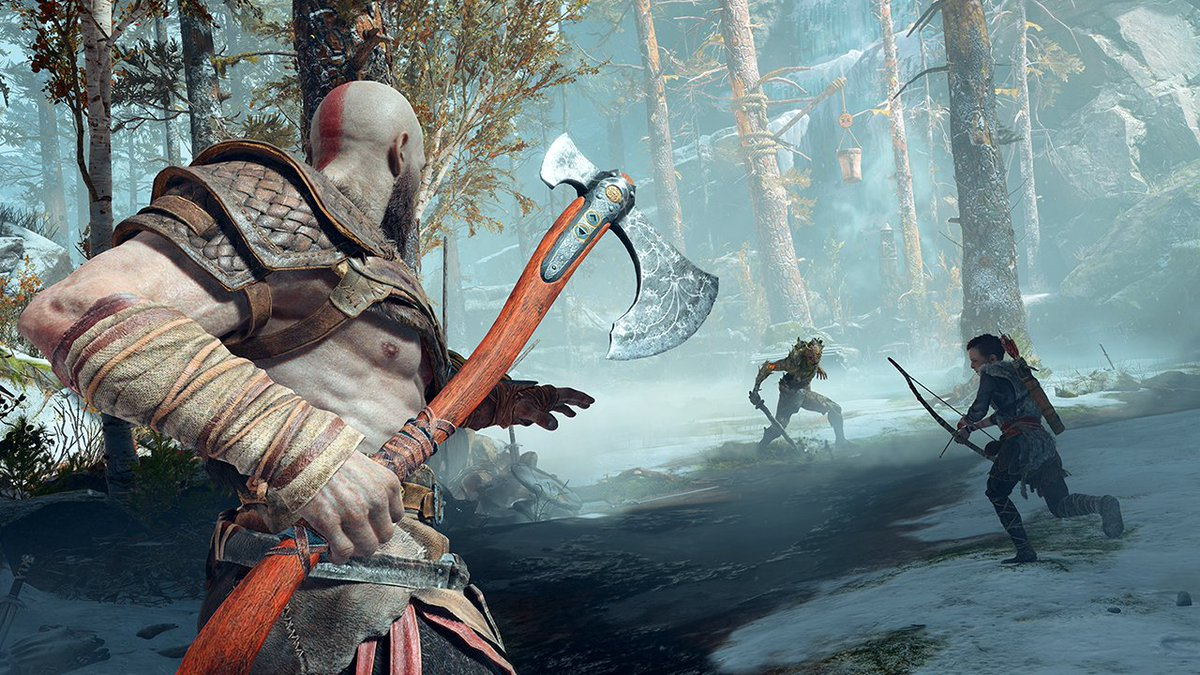 God of War's first 3 hours are more emotional than we expected.   Full hands-on preview: https://t.co/DxtFbz0MZo