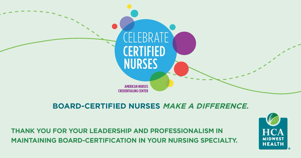 Hca Midwest Health On Twitter Happy Certified Nurses Day Today
