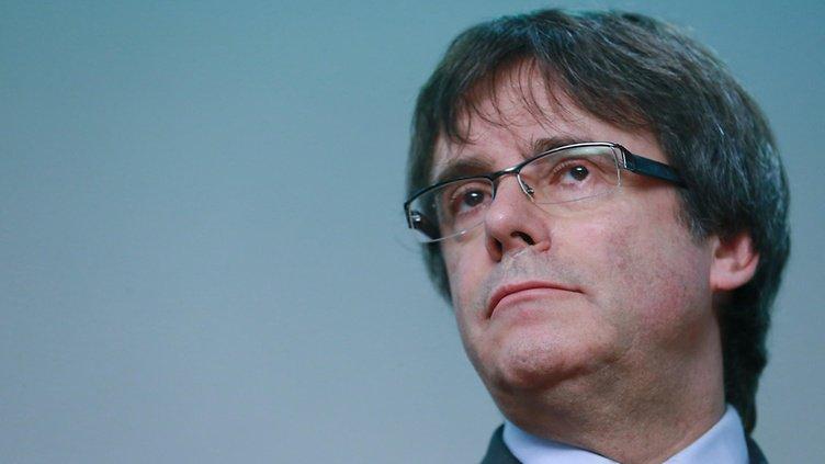 Katalonian entinen aluejohtaja Puigdemon...