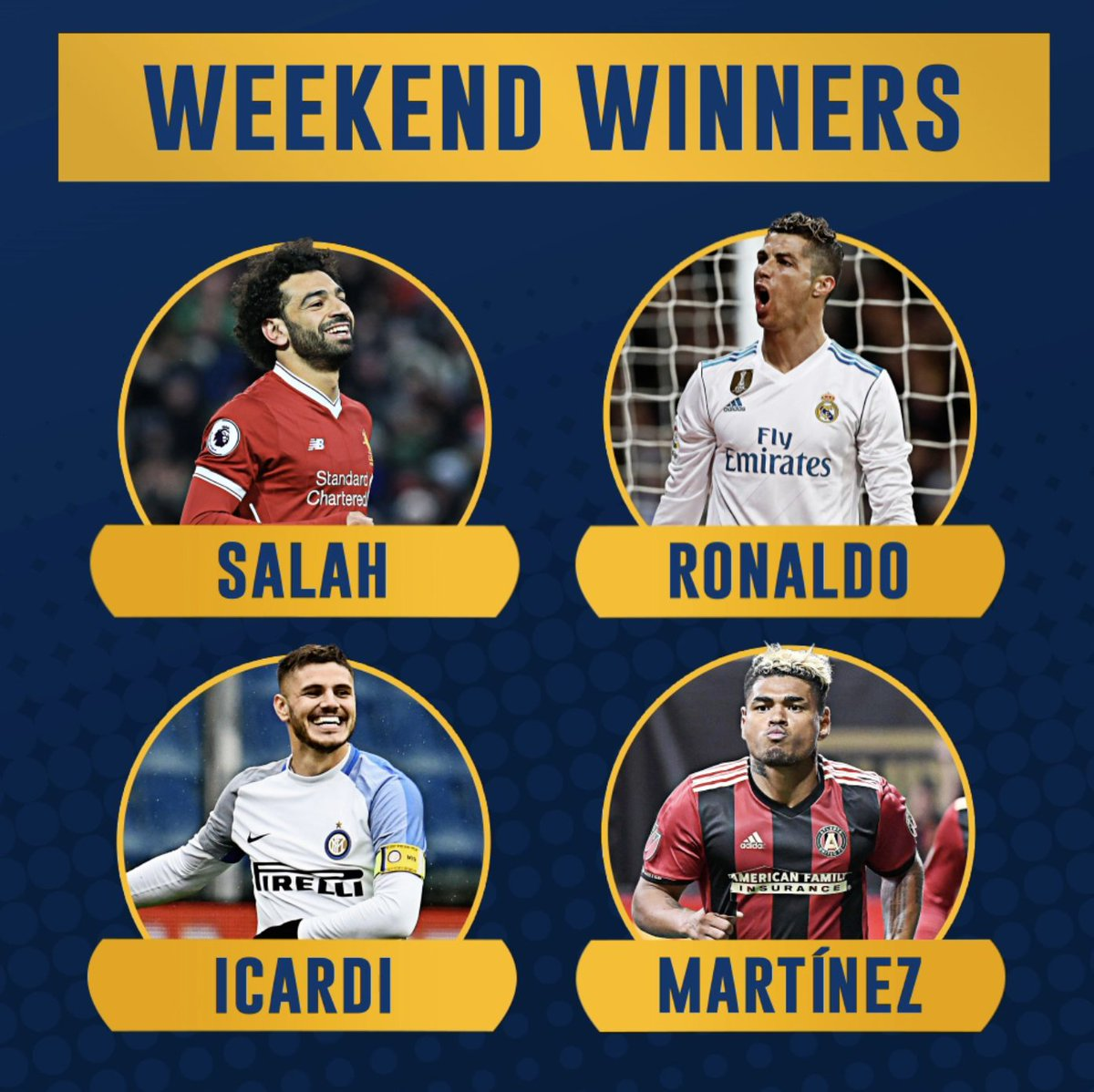 THREE different players had 4-goal games this weekend 😱 Which player was most impressive?
