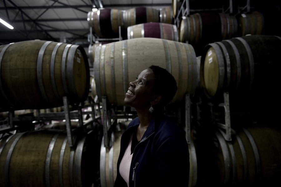 South Africa's first Black female winemaker is about to go global with her first line of wines. https://t.co/xEbR0RbhhB